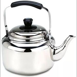 Demeyere 6.3 quart tea kettle stainless steel